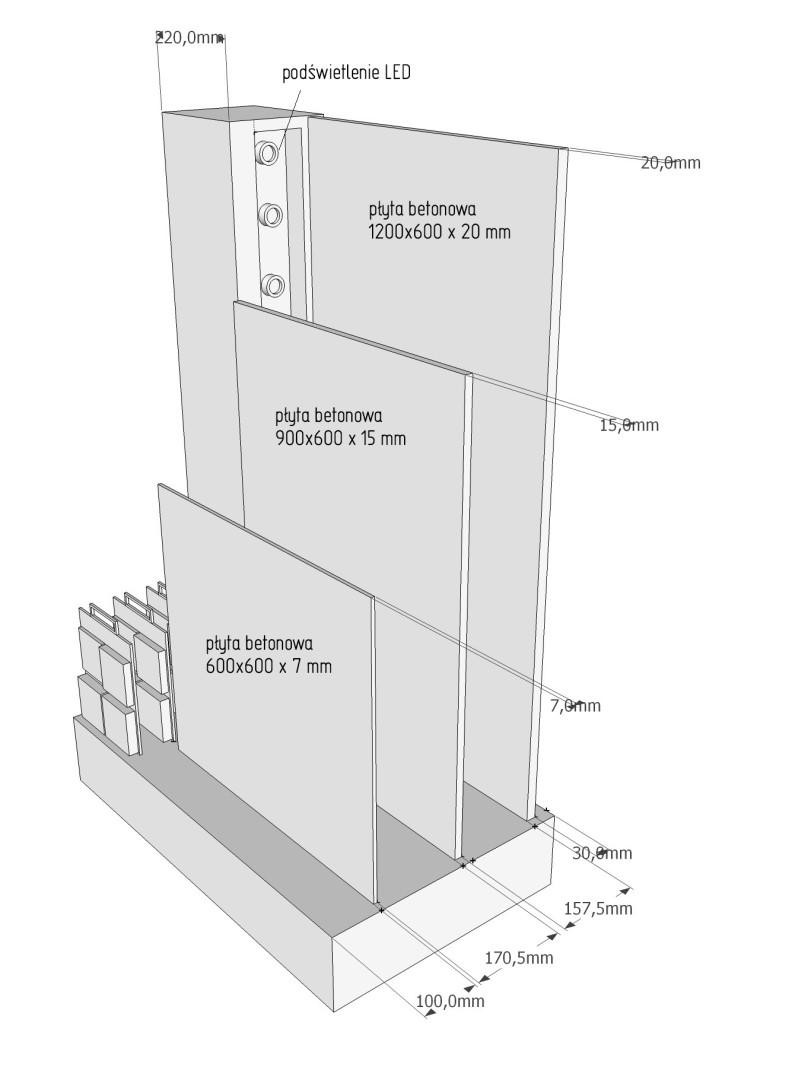 stojak na płyty betonowe - POS